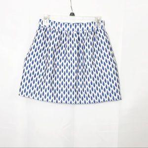 Alice + Olivia teardrop embroidered skirt